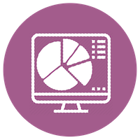 DATA SERVICES Visualization Icon