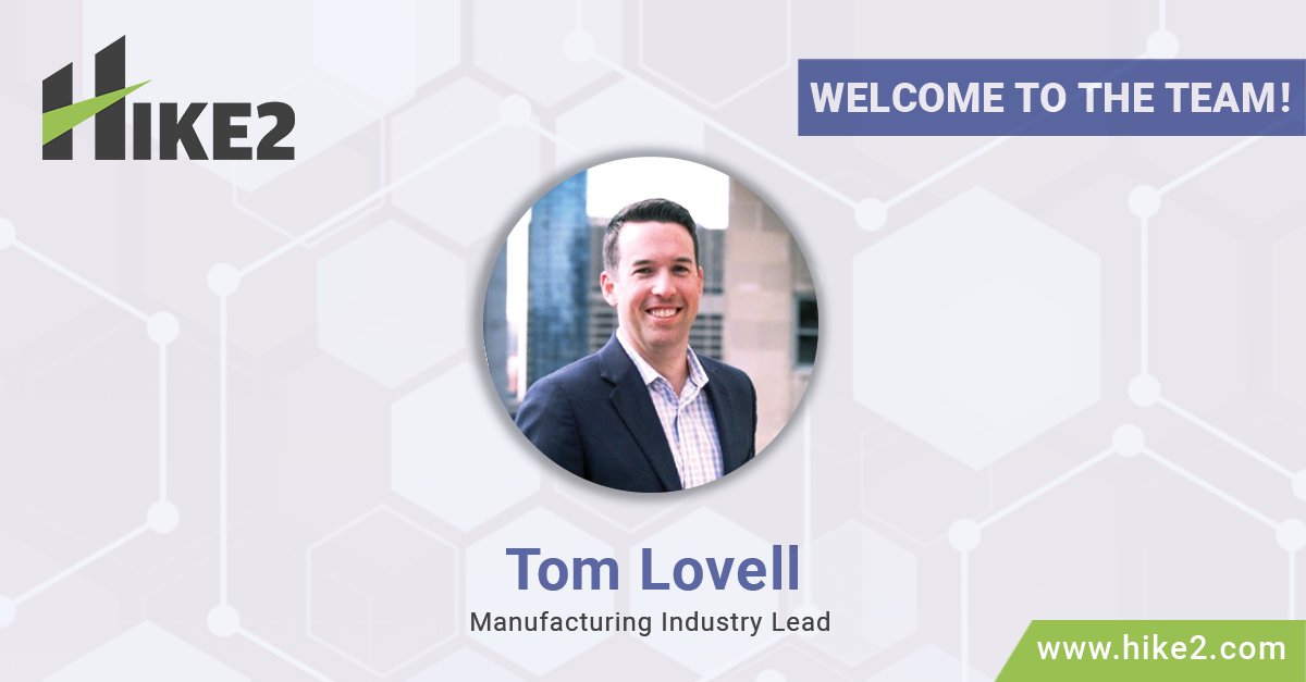 Tom Lovell Manufacturing Industry Lead