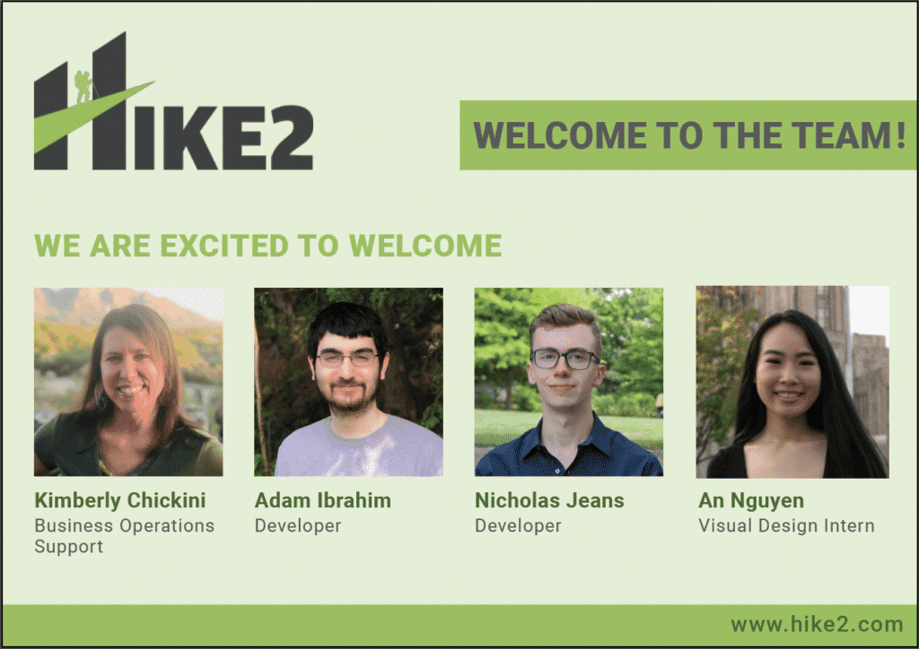 HIKE2 New Hires